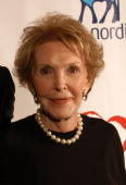 Former first lady Nancy Reagan attends the 'Finding A Cure A Love Story' Gala Tribute to Nancy Reagan benefiting Junvenile Diabetes Research...