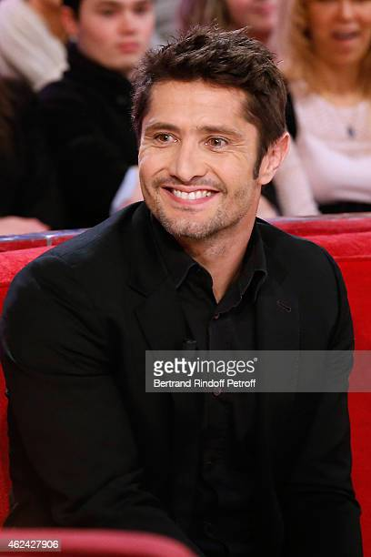 Former Football player Bixente Lizarazu attends the 'Vivement Dimanche' French TV Show at Pavillon Gabriel on January 28 2015 in Paris France