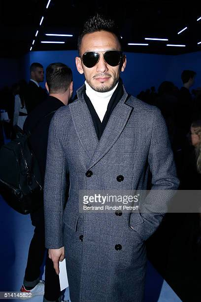 Former Football Player Hidetoshi Nakata attends the Giambattista Valli show as part of the Paris Fashion Week Womenswear Fall/Winter 2016/2017 on...