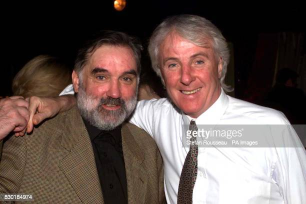 Former football stars George Best and Stan Bowles at the Loaded Awards held at the Talk of the Town in London
