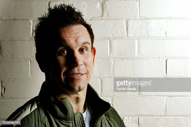 Former footballer Matthew Johns is starring in a new film called 'The Last Winter' about the fater of the Newtown Jets football club 12 May 2006 SHD...