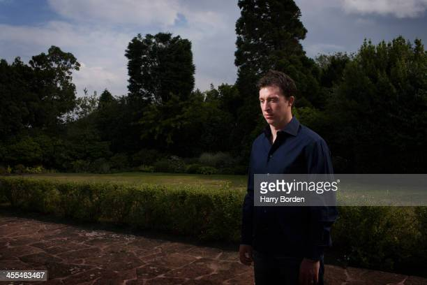 Former footballing striker Robbie Fowler is photographed for the Observer on August 15 2005 in Chester England