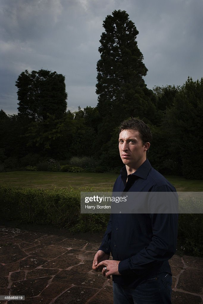 Former footballing striker <a gi-track='captionPersonalityLinkClicked' href=/galleries/search?phrase=Robbie+Fowler&family=editorial&specificpeople=206154 ng-click='$event.stopPropagation()'>Robbie Fowler</a> is photographed for the Observer on August 15, 2005 in Chester, England.