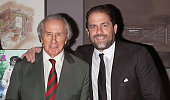 Former Formula One Racing Driver Sir Jackie Stewart and director/producer Brett Ratner attend 'Weekend Of A Champion' Premiere To Save Project The...