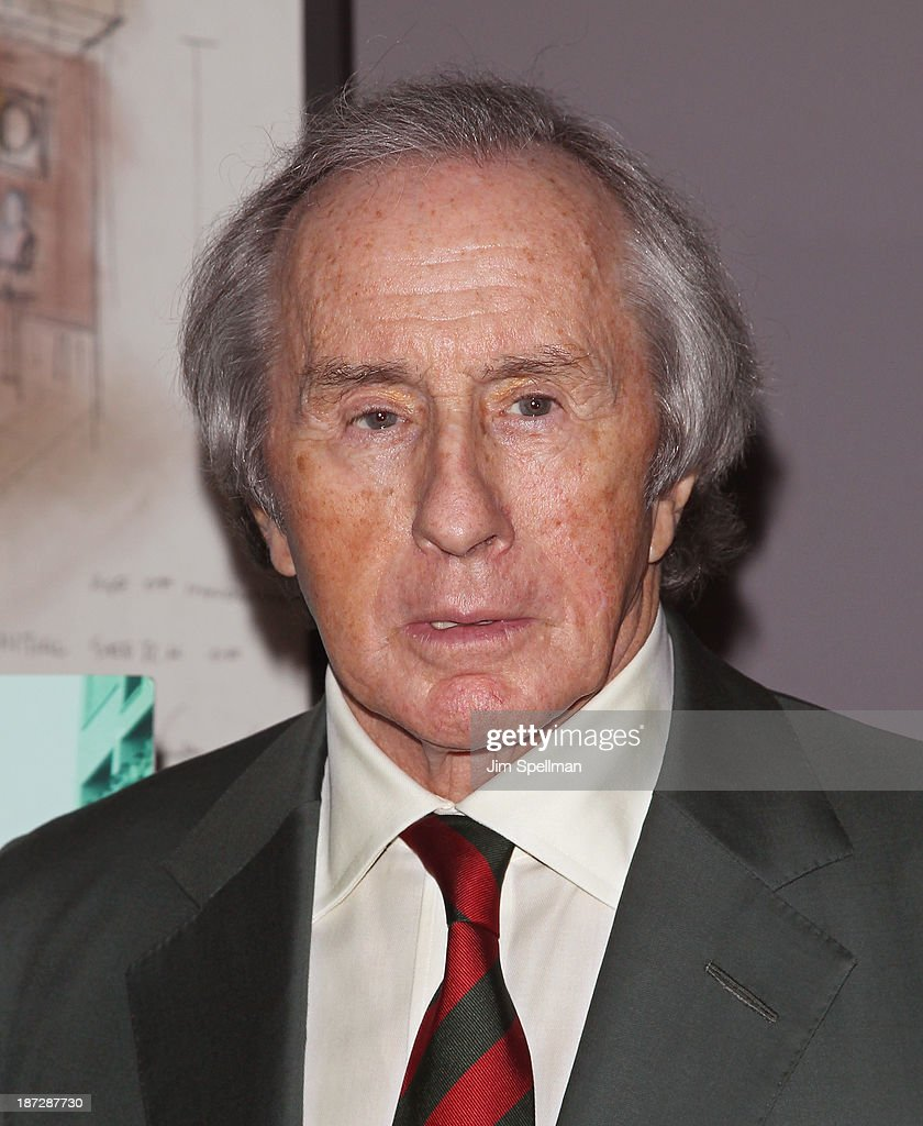Former Formula One Racing Driver Sir <a gi-track='captionPersonalityLinkClicked' href=/galleries/search?phrase=Jackie+Stewart&family=editorial&specificpeople=167276 ng-click='$event.stopPropagation()'>Jackie Stewart</a> attends 'Weekend Of A Champion' Premiere - To Save Project: The 11th MOMA International Festival Of Film Preservation at Museum of Modern Art on November 7, 2013 in New York City.