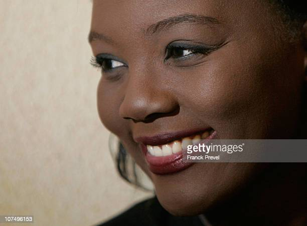 Former France's Junior Minister for Sports Rama Yade attends a 'Republic diner' on December 9 2010 in Paris France