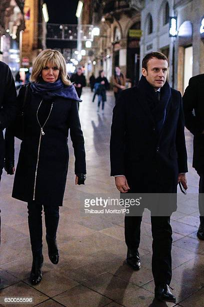 Former French Economy Minister Founder and Leader of the political movement 'En Marche ' and candidate for the 2017 French presidential elections...