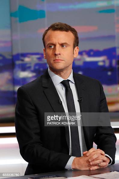 Former French Economy Minister founder and president of the political movement 'En Marche ' and candidate for France's 2017 presidential elections...