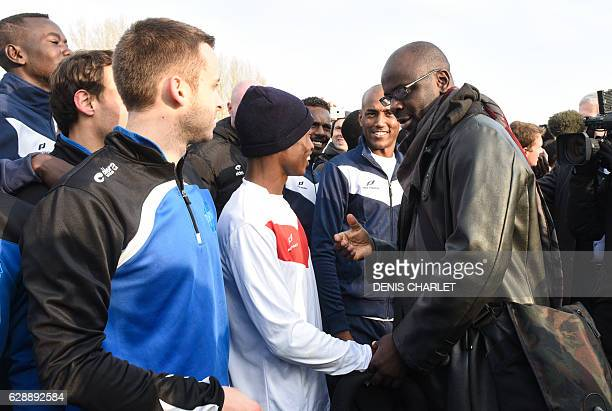 CORRECTION Former French football player and president of the Lilian Thuram Foundation aiming at developing education against racism Lilian Thuram...