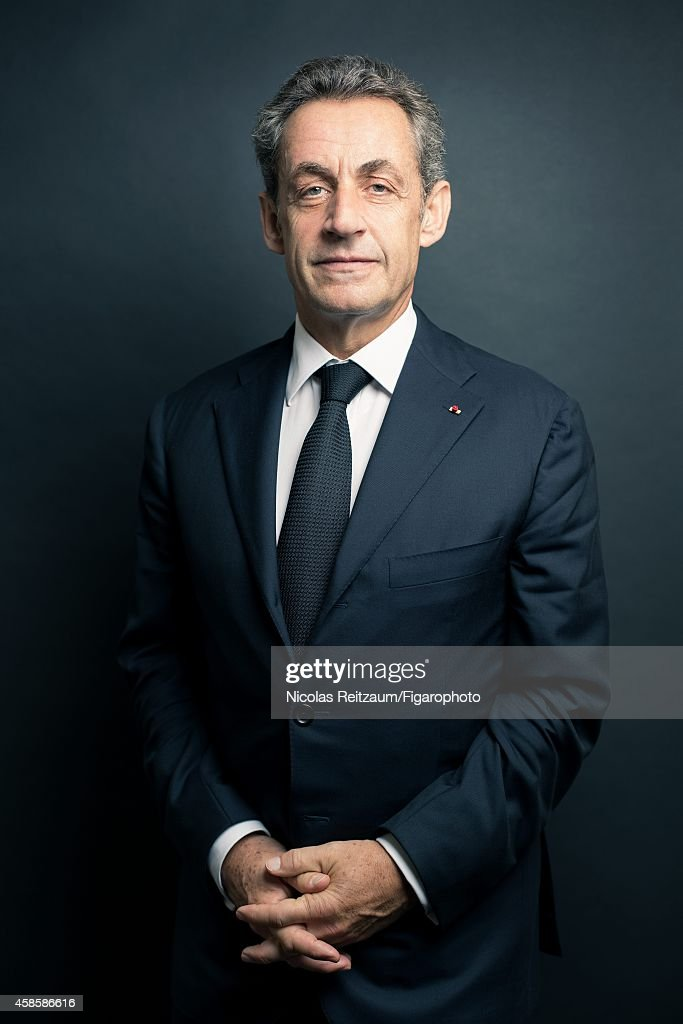 Former French president, <a gi-track='captionPersonalityLinkClicked' href=/galleries/search?phrase=Nicolas+Sarkozy&family=editorial&specificpeople=211375 ng-click='$event.stopPropagation()'>Nicolas Sarkozy</a> is photographed for Le Figaro Magazine on September 20, 2014 in Paris, France.