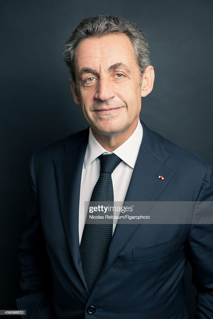 Former French president, Nicolas Sarkozy is photographed for Le Figaro Magazine on September 20, 2014 in Paris, France. COVER IMAGE.