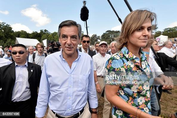 Former French Prime Minister and candidate for the rightwing Les Republicains party primary ahead of the 2017 presidential election Francois Fillon...