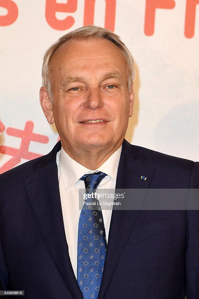 Former French Prime Minister <a gi-track='captionPersonalityLinkClicked' href=/galleries/search?phrase=Jean-Marc+Ayrault&family=editorial&specificpeople=551961 ng-click='$event.stopPropagation()'>Jean-Marc Ayrault</a> attends the 6th Chinese Film Festival