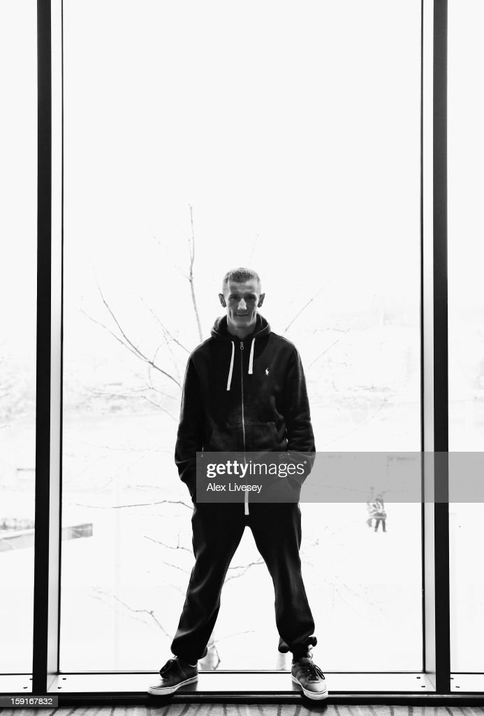 Former GB Olympic boxer Tom Stalker poses for a portrait after a press conference where he was unveiled as the latest boxer to be signed up to the Matchroom Sport stable at the Hilton Hotel on January 9, 2013 in Liverpool, England.