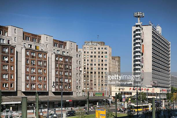 Former GDR buildings near Alexanderplatz, Berlin