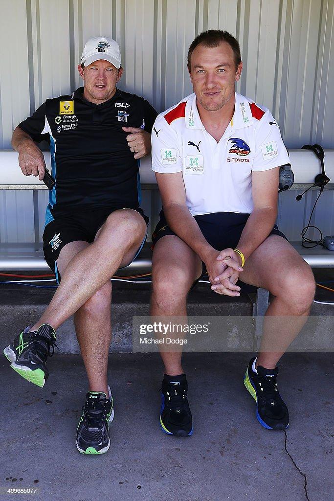 AFL NAB Cup Rd 2 - Adelaide v Port Adelaide