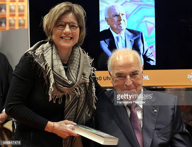 Former German Chancellor Helmut Kohl attends the presentation of his new book 'Helmut Kohl From The Fall Of The Wall To Reunification' at the Droemer...