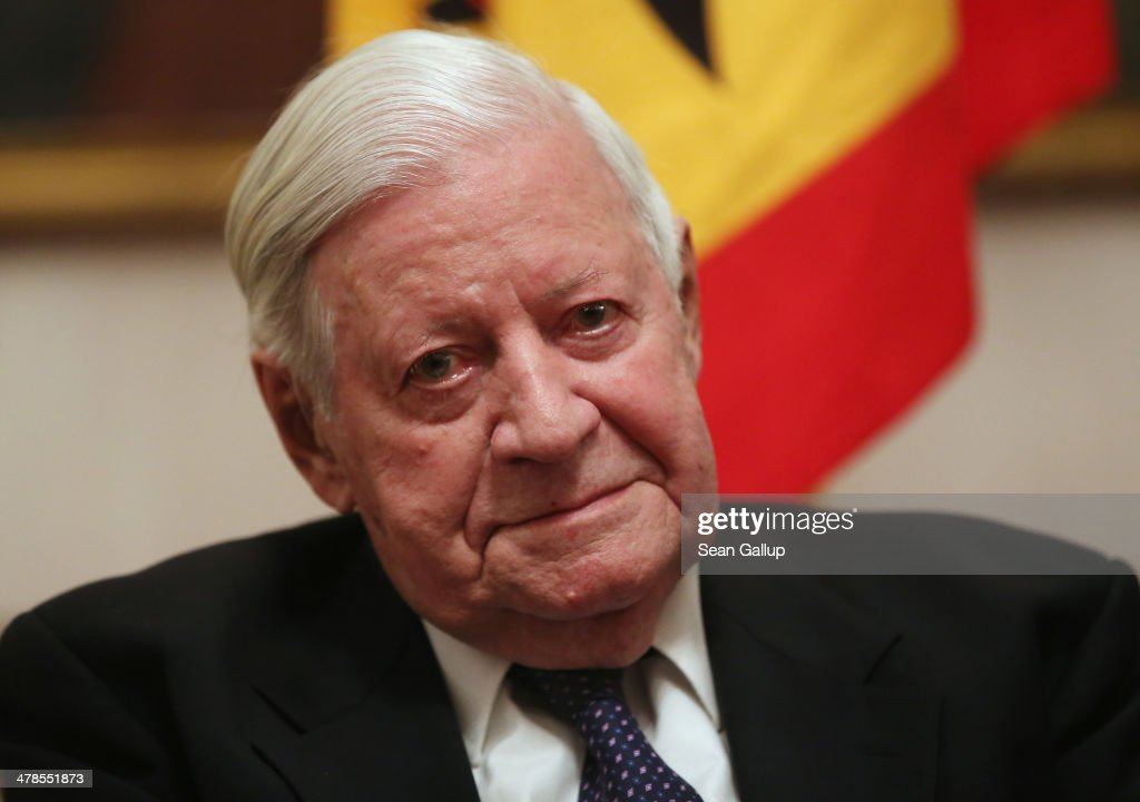 In Focus: Former  Chancellor Of West Germany Helmut Schmidt Dies At 96