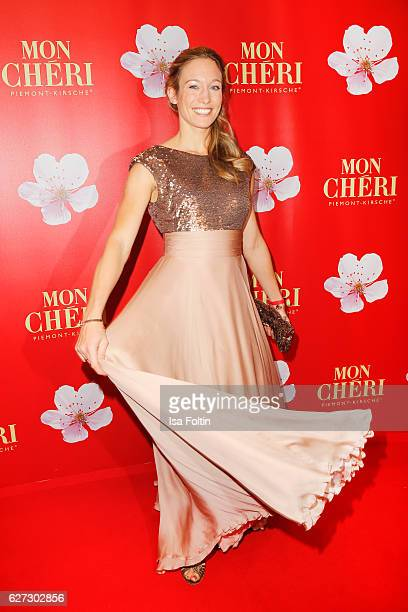 Former german kick boxing champion Christine Theiss attends the Mon Cheri Barbara Tag at Postpalast on December 2 2016 in Munich Germany