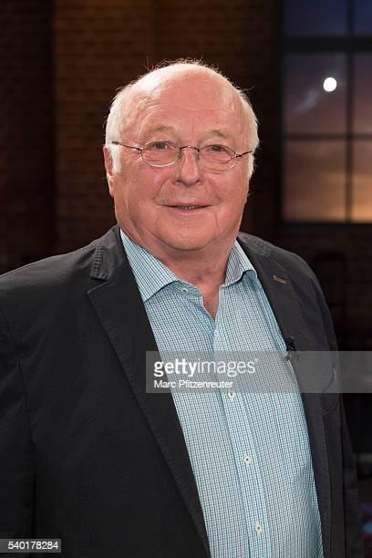 Former german politician Norbert Bluem attends the 'Koelner Treff' TV Show at the WDR Studio on June 14 2016 in Cologne Germany