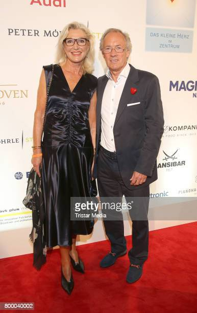 Former german soccer player Bernd Wehmeyer and his wife Almut Wehmeyer attend the Charity Evening 'Das kleine Herz im Zentrum' at Curio Haus on June...