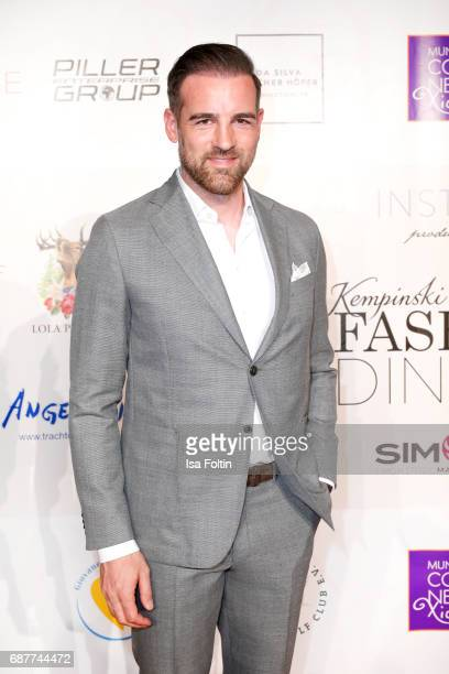 Former German soccer player Christoph Metzelder attends the Kempinski Fashion Dinner on May 23 2017 in Munich Germany