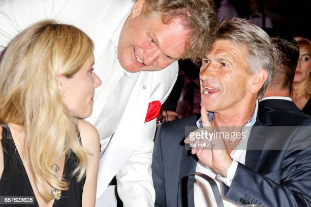 Former German soccer player Klaus Augenthaler during the Kempinski Fashion Dinner on May 23 2017 in Munich Germany