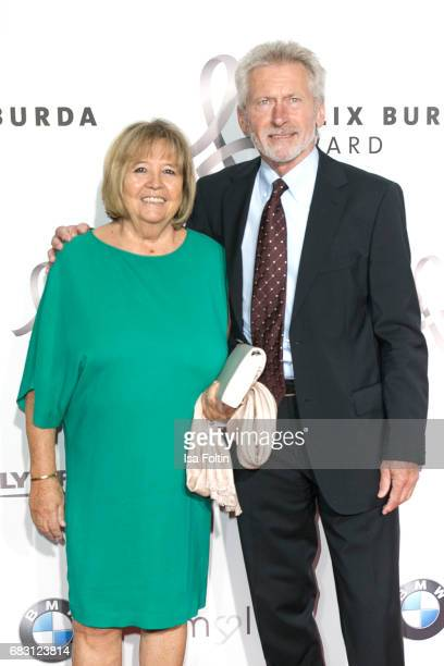 Former german soccer player Paul Breitner with his wife Hildegard Breitner attend the Felix Burda Award 2017 at Hotel Adlon on May 14 2017 in Berlin...