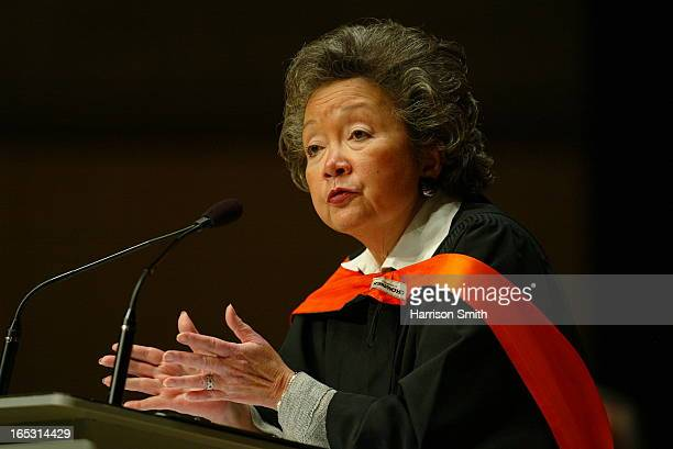DOCTORATE Former Governor General Adrienne Clarkson and world famous designer Karim Rashid were presented with Honorary Doctorates by the Ontario...