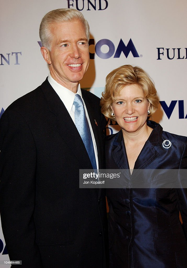 Former Governor <a gi-track='captionPersonalityLinkClicked' href=/galleries/search?phrase=Gray+Davis&family=editorial&specificpeople=200688 ng-click='$event.stopPropagation()'>Gray Davis</a> and wife <a gi-track='captionPersonalityLinkClicked' href=/galleries/search?phrase=Sharon+Davis&family=editorial&specificpeople=577720 ng-click='$event.stopPropagation()'>Sharon Davis</a> during 2003 Fulfillment Fund's Annual 'Stars 2003' Benefit Gala at Beverly Hilton Hotel in Beverly Hills, California, United States.