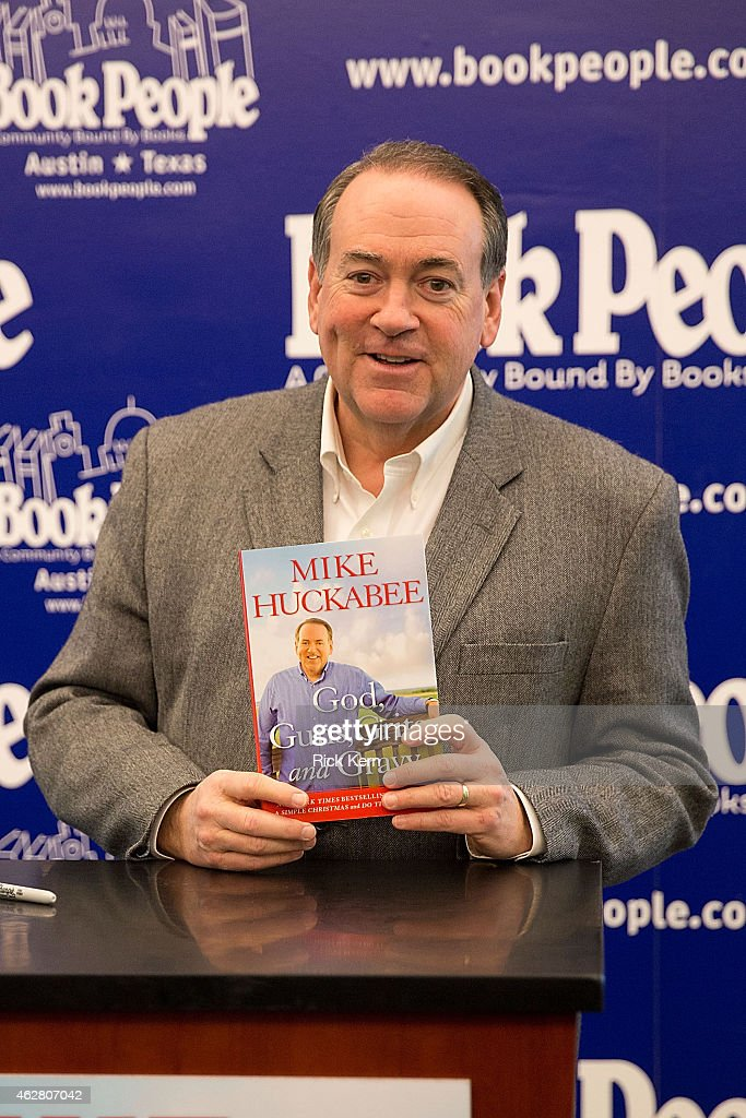 Mike Huckabee Book Signing