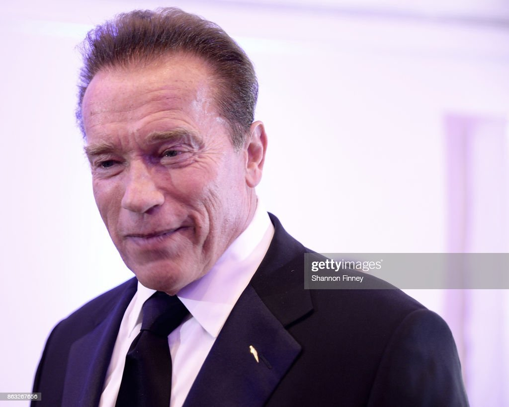 Former Governor of California and 2017 Points of Light Tribute Award Honoree, Arnold Schwarzenegger, attends the 2017 Points of Light Gala at the French Embassy on October 19, 2017 in Washington, DC.