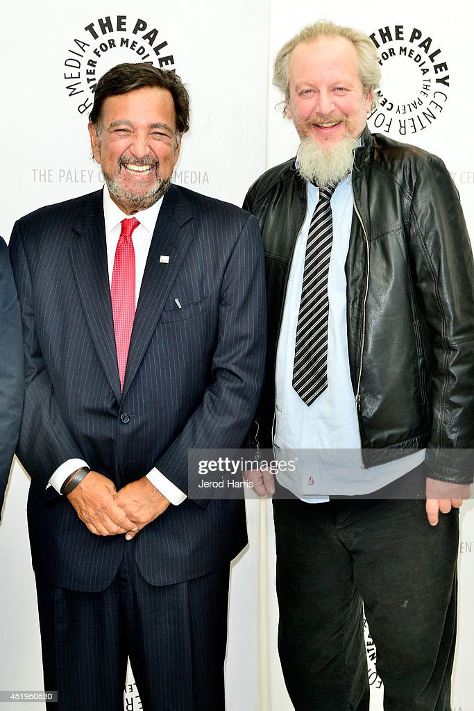 Former Governor of New Mexico Bill Richardson and actor Daniel Stern attend the Paley Center for Media Presents an evening with WGN America's...