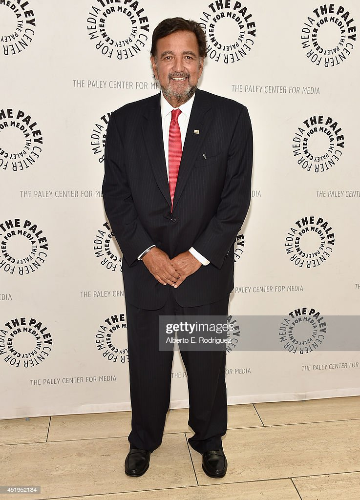 Former Governor of New Mexico <a gi-track='captionPersonalityLinkClicked' href=/galleries/search?phrase=Bill+Richardson&family=editorial&specificpeople=213321 ng-click='$event.stopPropagation()'>Bill Richardson</a> attends The Paley Center For Media Presents An Evening With WGN America's 'Manhattan' at The Paley Center for Media on July 9, 2014 in Beverly Hills, California.