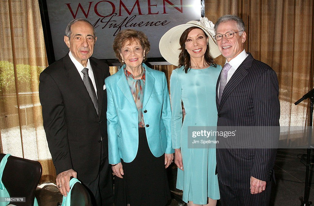 Former Governor of New York <a gi-track='captionPersonalityLinkClicked' href=/galleries/search?phrase=Mario+Cuomo+-+Politician&family=editorial&specificpeople=209344 ng-click='$event.stopPropagation()'>Mario Cuomo</a>, Matilda Raffa Cuomo, Margaret Cuomo and Howard Maier attend the 2013 T.J. Martell Foundation Women Of Influence Awards & Luncheon at Riverpark on May 7, 2013 in New York City.