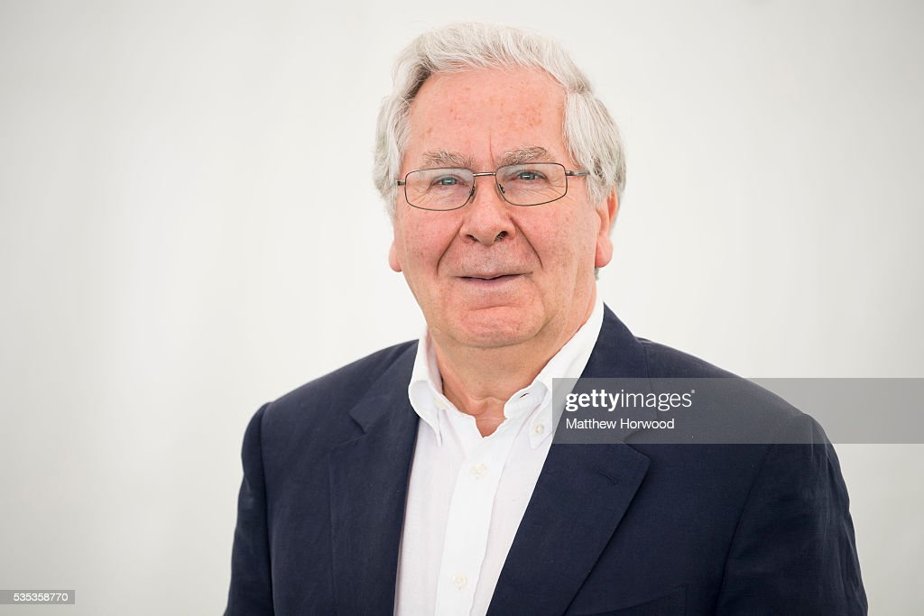 Former governor of the Bank of England Mervyn King poses for a portrait during the 2016 Hay Festival on May 29, 2016 in Hay-on-Wye, Wales. The Hay Festival is an annual festival of literature and arts now in its 29th year.