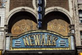 A former grand theater lies closed April 17 2009 in Newark New Jersey Newark New Jersey's largest city is struggling to hold onto economic gains made...