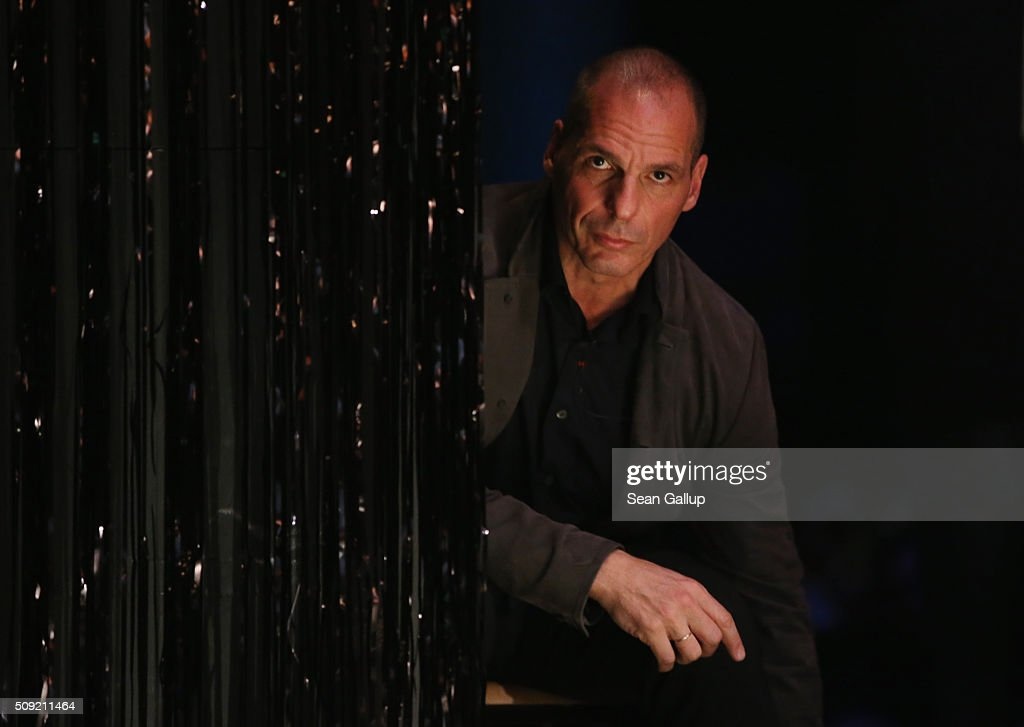 Former Greek Finance Minister <a gi-track='captionPersonalityLinkClicked' href=/galleries/search?phrase=Yanis+Varoufakis&family=editorial&specificpeople=13872964 ng-click='$event.stopPropagation()'>Yanis Varoufakis</a> attends the official launch of the Democracy in Europe Movement 2025 (DiEM25) at the Volksbuehne theater on February 9, 2016 in Berlin, Germany. Veroufakis is co-founding the new political movement together with other left-leaning politicians and thinkers from across Europe. Veroufakis said he sees Europe in danger of disintegration due to a rise in nationalism among some states not unsimilar to the rise of nationalist dictatorships in the 1930s and said he seeks to ceate a new Europe based on grass roots democracy and transparency.