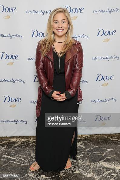 Former gymnast Shawn Johnson teams up with Dove to launch #mybeautymysay and stop sexist media commentary of female athletes The billboard in Times...