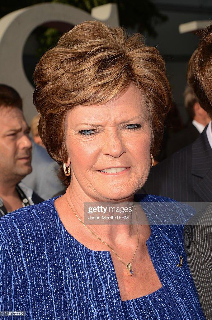 Former head coach of the Tennessee Lady Vols, Pat Summitt, arrives at the 2012 ESPY Awards at Nokia Theatre L.A. Live on July 11, 2012 in Los Angeles, California.
