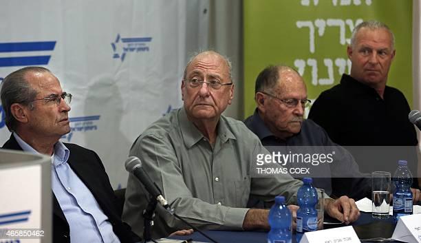 Former heads of Israeli spy agency Mossad and the army Shabtai Shavit former head of Mossad former deputy head of Israeli internal security agency...