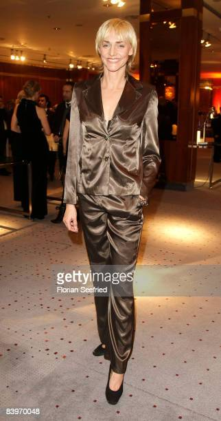 Former high jumper Heike Drechsler attends the Family Manager Gala at Hotel Intercontinental on 9 December 2008 in Berlin Germany