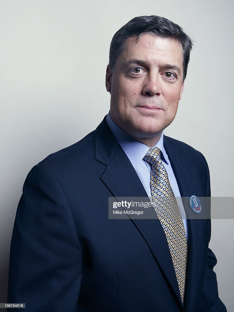 Former hockey player Pat LaFontaine is photographed for Self Assignment on September 11, 2012 in New York City.
