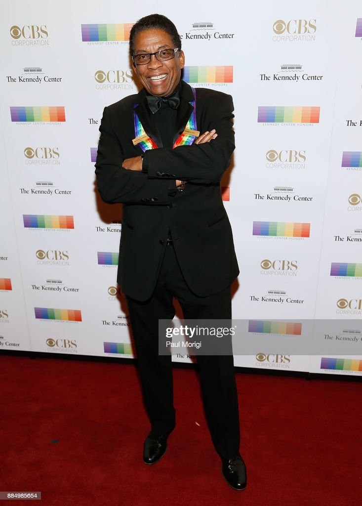 Former honoree Herby Hancock attends the 40th Kennedy Center Honors at the Kennedy Center on December 3, 2017 in Washington, DC.