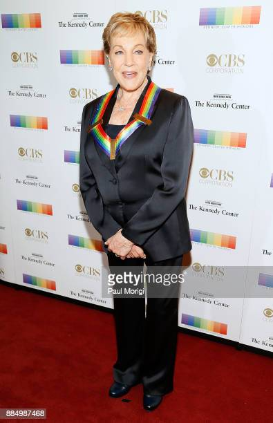 Former honoree Julie Andrews attends the 40th Kennedy Center Honors at the Kennedy Center on December 3 2017 in Washington DC