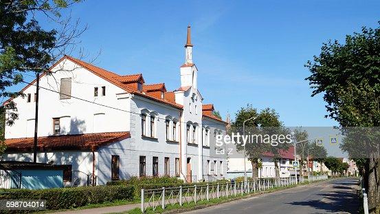 former hospital (war 1806-1807) : Foto stock