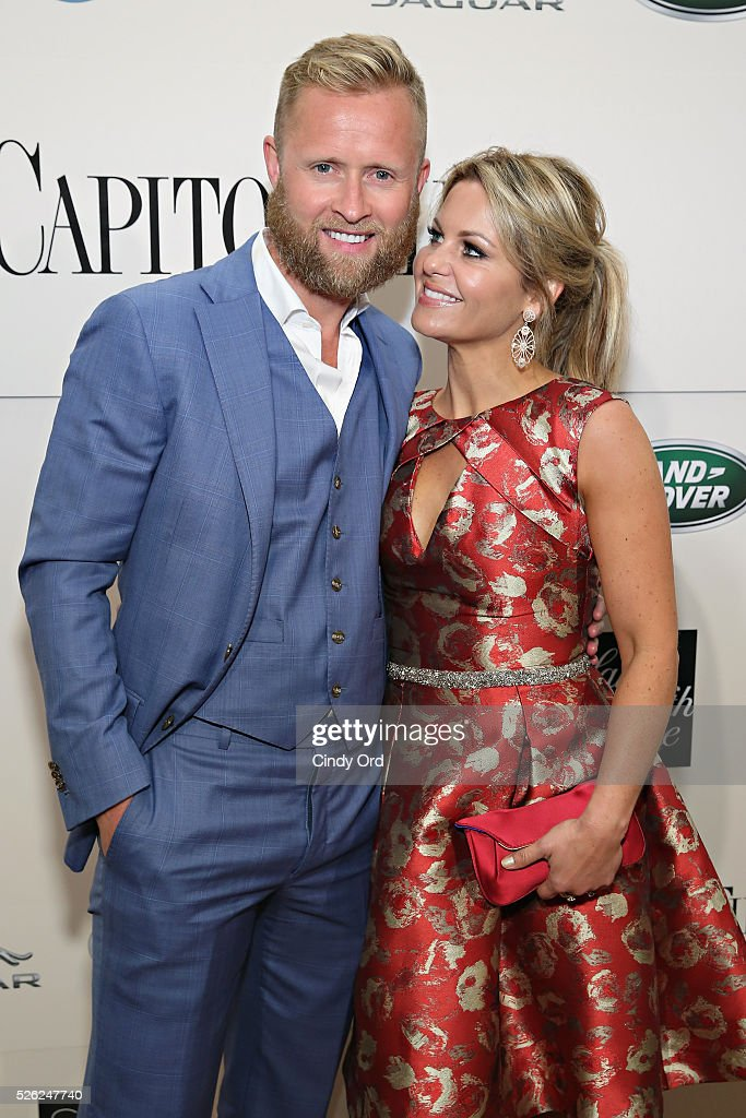 Former ice hockey right wingerValeri Bure and actress Candace Cameron-Bure attend as Jaguar Land Rover sponsor Capitol File's White House Correspondents' Dinner Party on April 30, 2016 in Washington, DC.