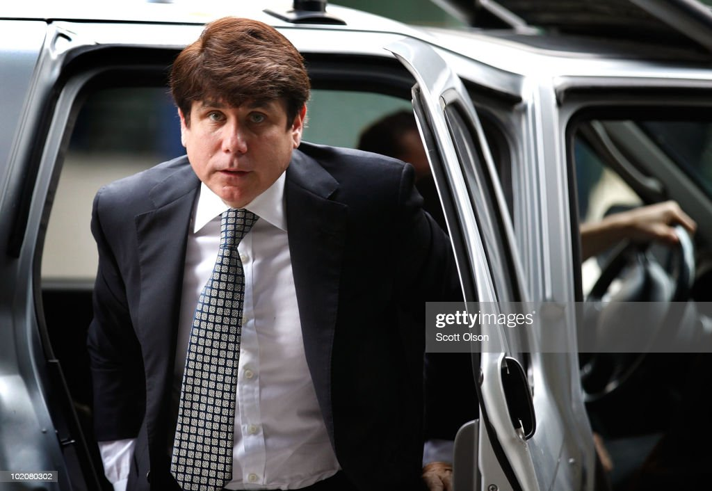 Blagojevich Arrives At Court For Corruption Trial