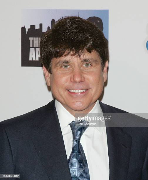 Former Illinois Governor Rod Blagojevich attends 'The Celebrity Apprentice' Season 3 finale after party at the Trump SoHo on May 23 2010 in New York...
