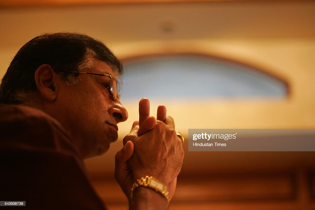 Former Indian Cricketer Karsan Ghavri speaks at his first press conference, after his appointment as the Coach for the Mumbai Cricket Team on July 22, 2005 in Mumbai, India.